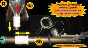 Пусковая установка водяных ракет