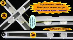 Упрочнение стойки бытового вентилятора