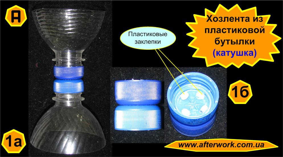 Как сделать с пластиковой бутылки ленту